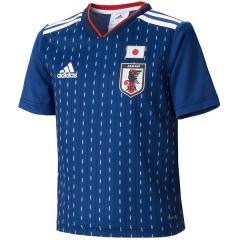 <LOHACO> (送料無料)adidas(アディダス)サッカー 日本代表 KIDS日本代表 ホームミニキット DTQ69 BR3631 ボーイズ ナイトブルー F13/ホワイト画像