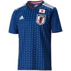<LOHACO> (送料無料)adidas(アディダス)サッカー 日本代表 KIDS日本代表 ホームレプリカユニフォーム半袖 DRN90 BR3644 ボーイズ ナイトブルー F13/ホワイト画像