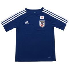 <LOHACO> adidas(アディダス)サッカー 日本代表 KIDS サッカー日本代表 ホームレプリカTシャツ NO22 CZO85 CJ3992 ボーイズ ブルー画像