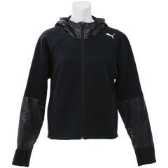 (送料無料)PUMA(プーマ)レディーススポーツウェア スウェット EVOSTRIPE スウェットジャケット 85192801 レディース ブラック