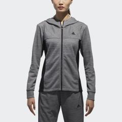<LOHACO> (セール)adidas(アディダス)レディーススポーツウェア ウォームアップジャケット W ADIDAS 24/7 マイクロボーダーウォームアップジャケット EUA35 CX4499 レディース DGH ソリッドグレー画像