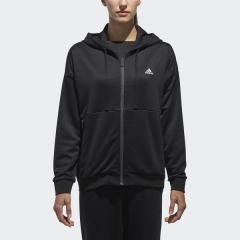 (送料無料)adidas(アディダス)レディーススポーツウェア ウォームアップパンツ W ID ハイブリッドフード付スウェット EUA53 CX4430 レディース ブラック