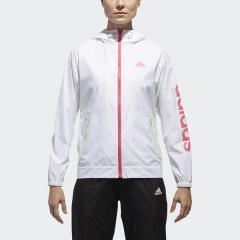 (送料無料)adidas(アディダス)レディーススポーツウェア ウインドアップジャケット W TEAM リニアウインドブレーカーフード付ジャケット EUA66 CX4477 レディース ホワイト