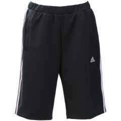 <LOHACO> (セール)adidas(アディダス)レディーススポーツウェア ウォームアップハーフパンツ W ジャージハーフパンツ EUA59 CX4417 レディース カーボン S18画像