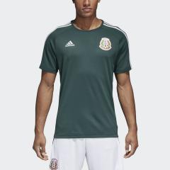 <LOHACO> adidas(アディダス)サッカー 海外クラブ ナショナルチーム メキシコ代表 ホームレプリカTシャツ DSJ07 BQ4660 メンズ カレッジエイトグリーン/ホワイト画像