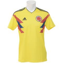 (送料無料)adidas(アディダス)サッカー 海外クラブ ナショナルチーム コロンビア代表 ホームレプリカユニフォーム半袖 EVF42 CW1526 メンズ ブライトイエロー/カレッジネイビー