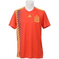 (送料無料)adidas(アディダス)サッカー 海外クラブ ナショナルチーム スペイン代表 ホームレプリカユニフォーム DTY42 CX5355 メンズ レッド/ボールドゴールド