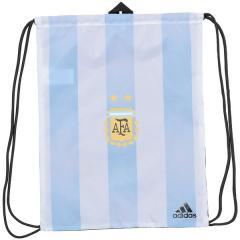 adidas(アディダス)サッカー 海外クラブ ナショナルチーム AFA GYMBAG DUR86 CF5001 メンズ NS ホワイト/クリアブルー/ブラック
