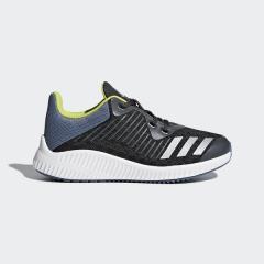 (セール)adidas(アディダス)シューズ ジュニア キッズ FORTARUN K EFY73 CP9987 カーボン S18/シルバーメット/ロースティール S18