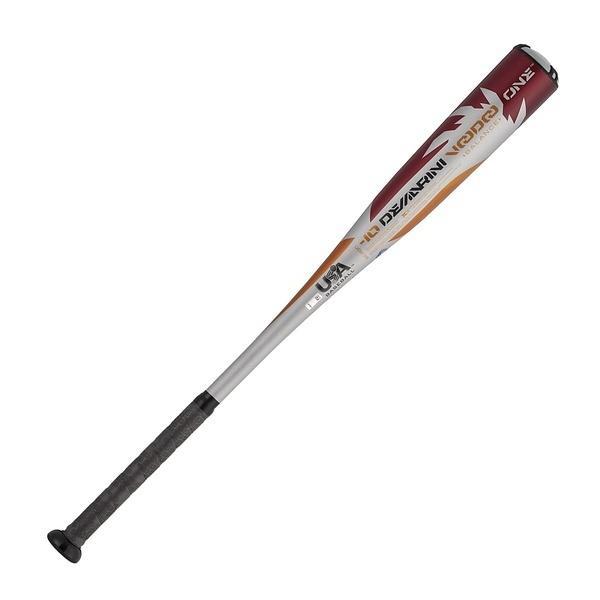 (送料無料)WILSON(ウィルソン)野球 硬式メタルバッド リトルリーグ用 DM ヴードゥ ONE JLRUO 2131 WTDXJLRUO 2131-18 ジュニア 2131 シルバーxオレンジ