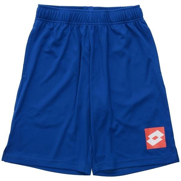 (セール)LOTTO(ロット)サッカー ジュニアゲームパンツ ジュニアハーフパンツ LO-S18-102-035 ボーイズ ブルー
