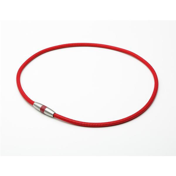dfdcc4b484 phiten(ファイテン)スポーツアクセサリー 健康アクセ RAKUWA磁気チタンネックレス ボルドー/メタリックレッド