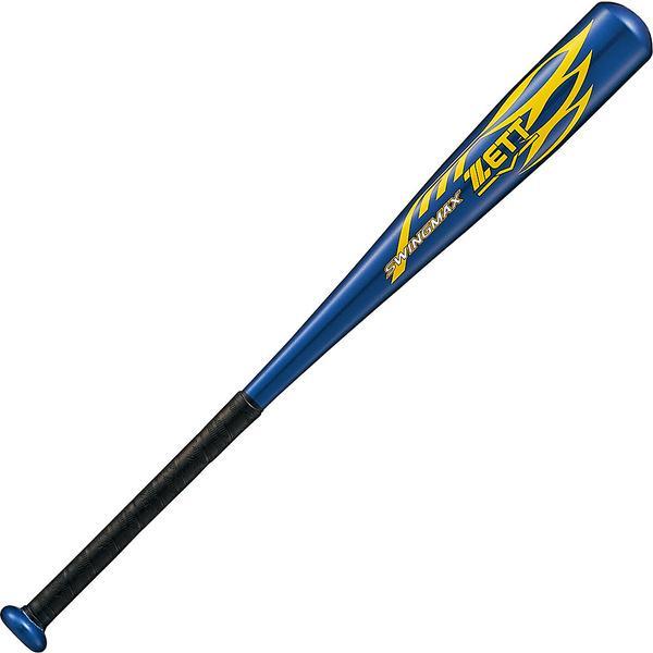 (送料無料)ZETT(ゼット)野球 少年軟式メタルバッド JR.ナンシキ アルミバット SWINGMAX BAT75822-2900 . ジュニア ネイビー 2900