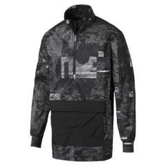 (送料無料)PUMA(プーマ)メンズスポーツウェア ウインドアップジャケット エナジー ウーブンジャケット 51670601 メンズ ブラック