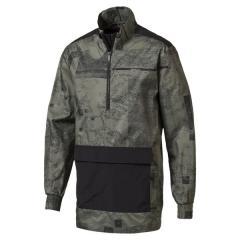 (送料無料)PUMA(プーマ)メンズスポーツウェア ウインドアップジャケット エナジー ウーブンジャケット 51670602 メンズ キャスター グレー