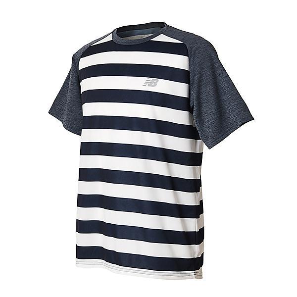 New Balance(ニューバランス)ランニング メンズ半袖Tシャツ R360 グラフィックショートスリーブTシャツ JMTR8103PGM メンズ ピグメント