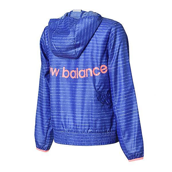 (セール)New Balance(ニューバランス)ランニング レディースウインド W R360 ウインドジャケット JWJR8113BUE レディース ブルーアイリス