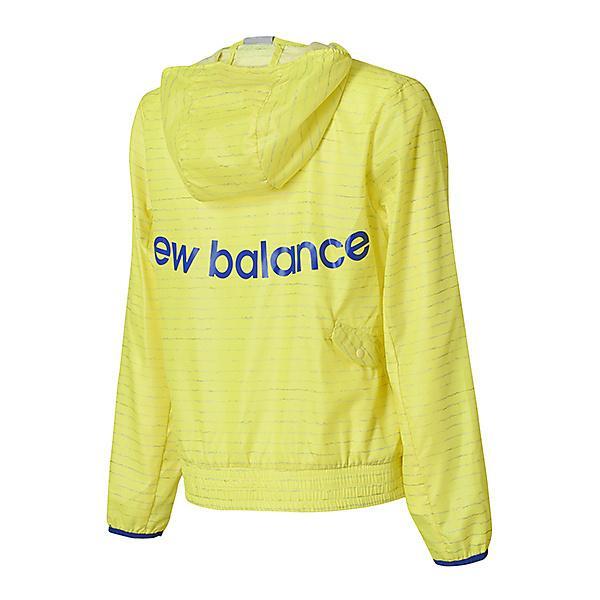 (セール)New Balance(ニューバランス)ランニング レディースウェア W R360 ウインドジャケット JWJR8113SRY レディース ソーラーイエロー