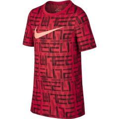(セール)NIKE(ナイキ)バスケットボール ジュニア 半袖Tシャツ ナイキ YTH ドライ エリート S/S Tシャツ 894259-657 ボーイズ ユニバーシティレッド/(ブラック)