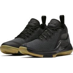 (セール)NIKE(ナイキ)バスケットボール ジュニア シューズ ナイキ レブロン ウィットネス II GS 922887-020 ボーイズ ブラック/ブラック/ガム ライト ブラウン/アンスラサイト