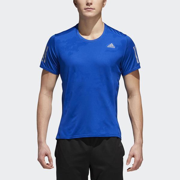 adidas(アディダス)ランニング メンズ半袖Tシャツ RESPONSE半袖TシャツM EEO04 CE7262 メンズ カレッジロイヤル