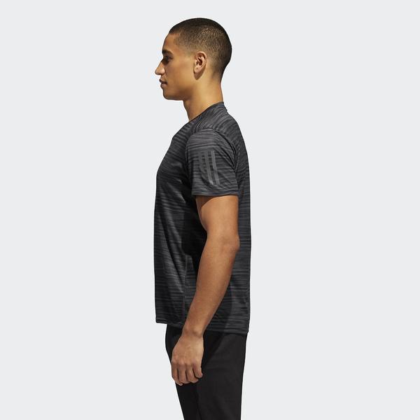 adidas(アディダス)ランニング メンズ半袖Tシャツ RESPONSE グラフィックTシャツM EEO07 CG2191 メンズ ブラック/カーボン S18
