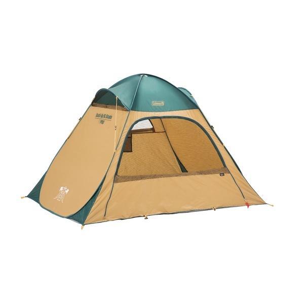 (セール)COLEMAN(コールマン)キャンプ用品 サンシェード クィツクアップIG゛シェード(グリーン/ベージュ) 2000033131