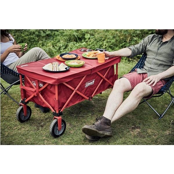 (セール)COLEMAN(コールマン)キャンプ用品 キャンピングアクセサリー アウトドアワゴンテーブル 2000033140