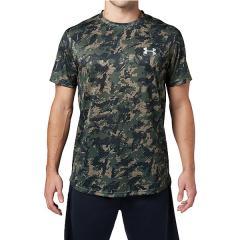 (セール)UNDER ARMOUR(アンダーアーマー)野球 半袖Tシャツ 18S UA TECH SS CAMO 1313380 0PM メンズ DTG