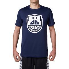 (セール)UNDER ARMOUR(アンダーアーマー)バスケットボール メンズ 半袖Tシャツ 18S UA TECH BASKETBALL ICON 1313538 40A メンズ MDN