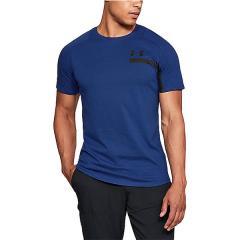 (セール)UNDER ARMOUR(アンダーアーマー)メンズスポーツウェア 半袖機能Tシャツ 18S UA PERPETUAL SS GRAPHIC 1306380 5N9 メンズ FMB/BLK