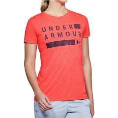 (セール)UNDER ARMOUR(アンダーアーマー)レディーススポーツウェア Tシャツ 18S UA TBORNE TRAIN GRPH TWIST SSC 1309894 5UW レディース NCL/MEL/MSV