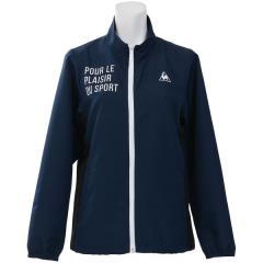 (セール)le coq sportif(ルコックスポルティフ) レディーススポーツウェア ウインドアップジャケット クロスジャケット QMWLJF21MG NVY レディース NVY