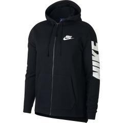 (セール)NIKE(ナイキ)メンズスポーツウェア ジャケット ナイキ ハイブリッド フレンチテリー フルジップ フーディ 885946-010 メンズ ブラック/ブラック/(ホワイト)
