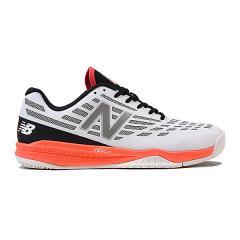 (セール)New Balance(ニューバランス)メンズテニスシューズ MCO796W1 2E MCO796W1 2E メンズ WHITE/SILVER