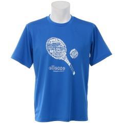 (セール)Ellesse(エレッセ)ラケットスポーツ Tシャツ RACKET TEE EM18102 メンズ PB