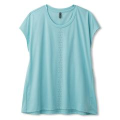 DANSKIN(ダンスキン)ヨガ Tシャツ ワイドT DY78110 レディース AQ