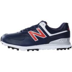 (送料無料)New Balance(ニューバランス)ゴルフ メンズゴルフシューズ MGS574NR D MGS574NR D メンズ NAVY/RED