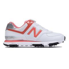 (セール)(送料無料)New Balance(ニューバランス)ゴルフ レディースゴルフシューズ WGB574WC D WGB574WC D レディース WHITE/CORAL