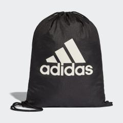 (セール)adidas(アディダス)スポーツアクセサリー ナップサック ビッグロゴジムバッグ BFP39 BR5051 NS ブラック/ブラック/ホワイト