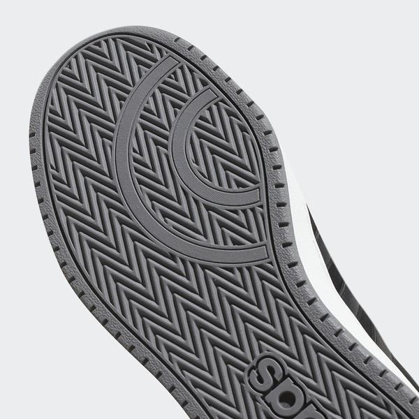 (セール)adidas(アディダス)シューズ カジュアル ADIHOOPS 2.0 FBQ67 DB0122 コアブラック/コアブラック/グレースリーF17