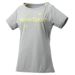 デサント レディーススポーツウェア Tシャツ サンスクリーン ハーフスリーブシャツ DMWLJA61 GRMレディース GRM