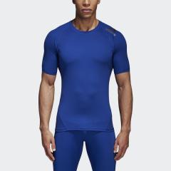 <LOHACO> adidas(アディダス)メンズスポーツウェア コンプレッション半袖 ALPHASKIN TEAM ショートスリーブTシャツ EBR77 CD7170 メンズ ミステリーインクF17画像