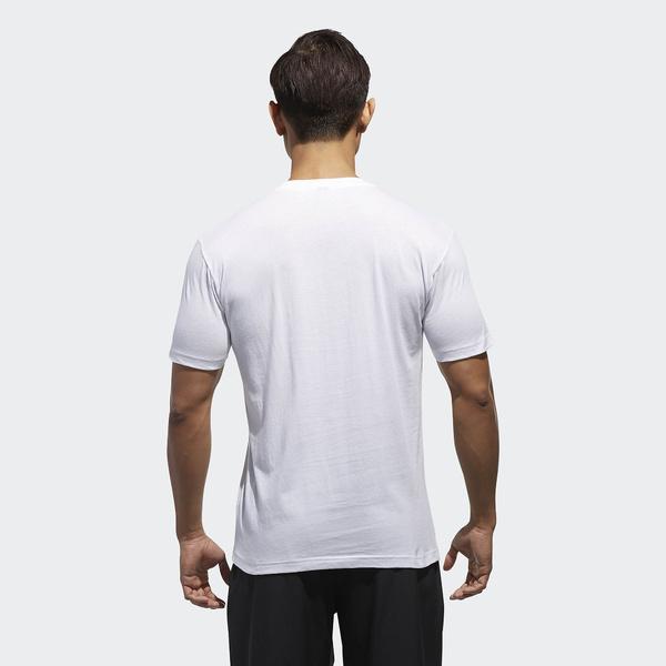 (セール)adidas(アディダス)メンズスポーツウェア 半袖機能Tシャツ M ESSENTIALS ビッグリニアロゴ 半袖Tシャツ ETZ64 CX3325 メンズ ホワイト