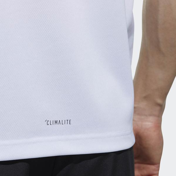 adidas(アディダス)メンズスポーツウェア 半袖ベーシックTシャツ M MUSTHAVES CLIMALITE パックTシャツ ETZ84 CX3348 メンズ ホワイト/ブラック