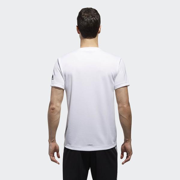 (セール)adidas(アディダス)メンズスポーツウェア 半袖機能Tシャツ M ESSENTIALS BADGE OF SPORT ベーシック Tシャツ ETZ85 CX3353 メンズ ホワイト