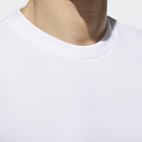adidas(アディダス)メンズスポーツウェア 半袖機能Tシャツ M ESSENTIALS BADGE OF SPORT ベーシック Tシャツ ETZ85 CX3353 メンズ ホワイト
