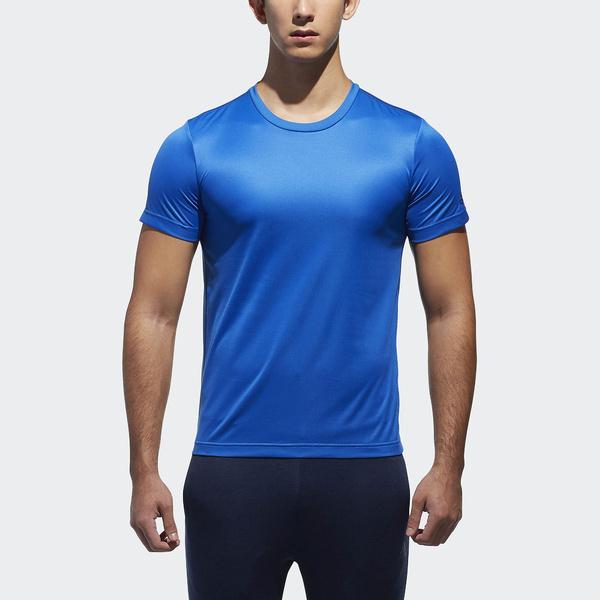 adidas(アディダス)メンズスポーツウェア 半袖機能Tシャツ M ESSENTIALS BADGE OF SPORT ベーシック Tシャツ ETZ85 CX3356 メンズ ブルー