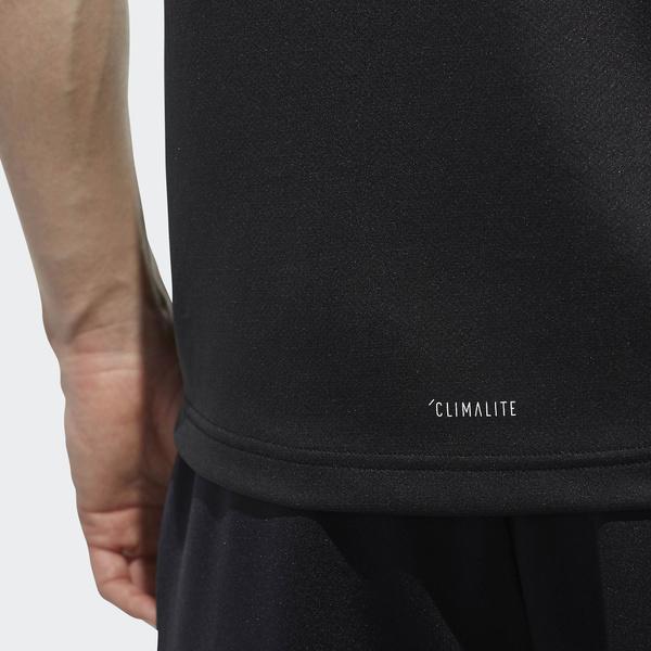 (セール)adidas(アディダス)メンズスポーツウェア 半袖機能Tシャツ M ESSENTIALS BADGE OF SPORT ベーシック Tシャツ ETZ85 CX3358 メンズ ブラック
