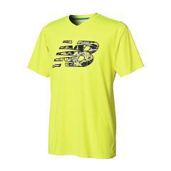 (セール)New Balance(ニューバランス)サッカー 長袖プラクティスシャツ NB KAKUSEI  BIG LOGO プラクティスシャツ JMTF8312HIL メンズ ハイライト